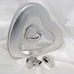 idesign usb and heart tins